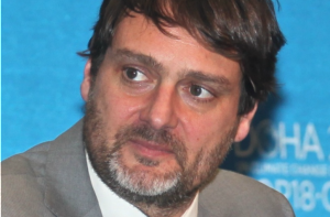 Luc Bas, Director of the Brussels office of the International Union for Conservation of Nature. [IUCN]